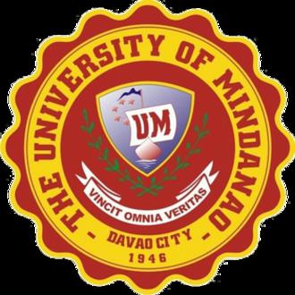 University of Mindanao - Image: University of Mindanao Logo