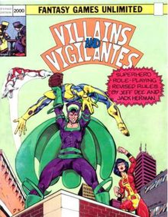 Villains and Vigilantes - Image: V&V 2nd ed