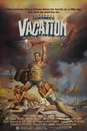 National Lampoon's Vacation - Theatrical release poster by Boris Vallejo