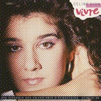 The Best of Celine Dion - Image: Vivre by Celine Dion
