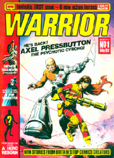 <i>Warrior</i> (comics) comics anthology