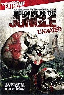 <i>Welcome to the Jungle</i> (2007 film) 2007 American film