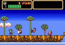 Screenshot Of The Mega Drive Version
