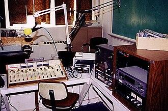 WUWG - WWGC Production Room, 1999