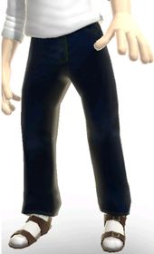 f25c5db42675 Xbox Live avatar with socks and sandals