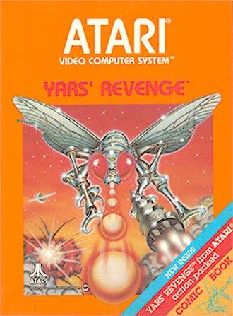 Yars' Revenge - Picture label cover art