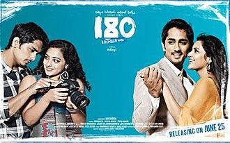 180 (2011 Indian film) - Image: 180 poster