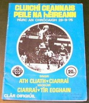 1975 All-Ireland Senior Football Championship Final - Image: 1975 All Ireland Senior Football Championship Final