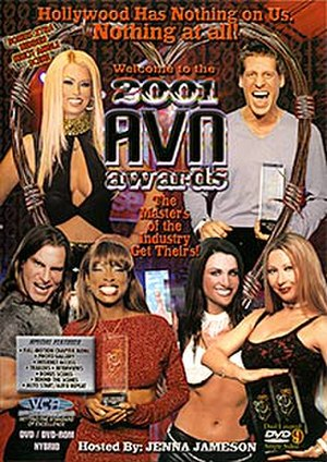 18th AVN Awards - DVD cover art of the recording of the 18th AVN Awards.