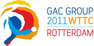 2011 World Table Tennis Championships - Image: 2011 World Table Tennis Championships logo