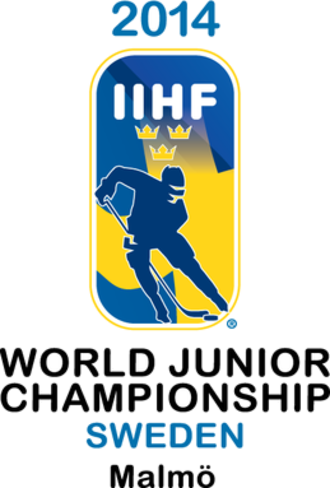 2014 World Junior Ice Hockey Championships - Image: 2014 WJHC logo
