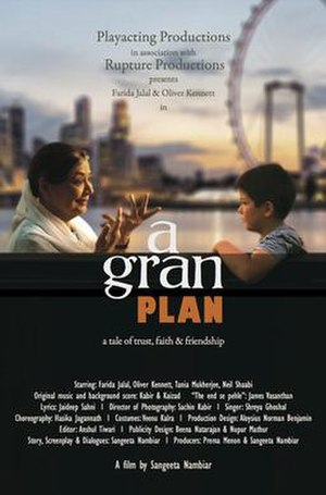 A Gran Plan - Theatrical release poster