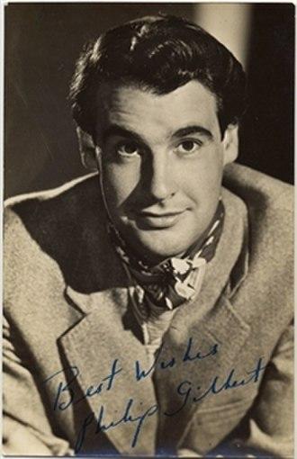 Philip Gilbert - Image: Actor Philip Gilbert