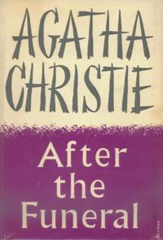 After the Funeral - Dustjacket illustration of the UK First Edition (Book was first published in the US)