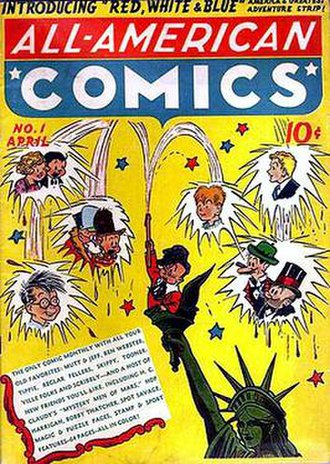 All-American Publications - Image: All American Comics 1