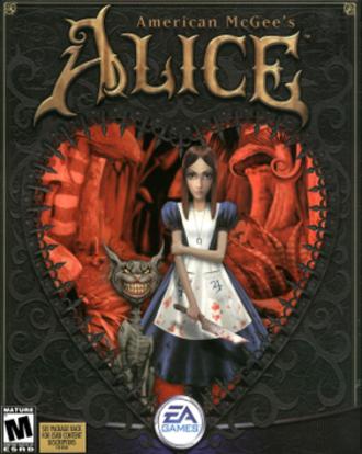 American McGee's Alice - Original North American cover art