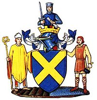 Arms of St Albans City and District Council