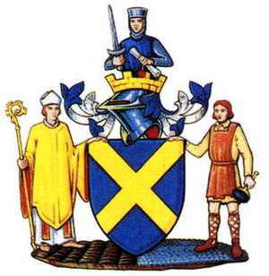 Mercia - Arms of St Albans City Council