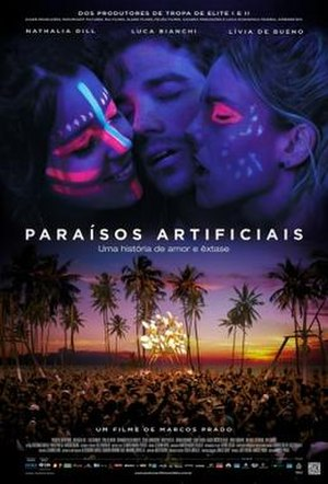 Artificial Paradises (film) - Brazilian theatrical poster