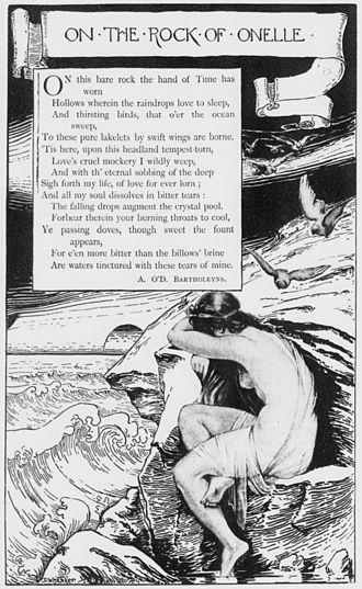 Albert O'Donnell Bartholeyns - Image: Bartholeyns poem