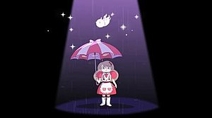 Cartoon Hangover - A screenshot from the first episode of Bee and PuppyCat; PuppyCat is falling from the sky, about to land on Bee