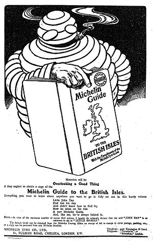 Michelin Guide - 1911 Michelin Guide to the British Isles