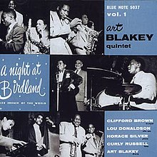 A Night at Birdland cover