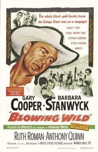 Blowing Wild - Theatrical release poster