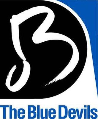 Blue Devils Drum and Bugle Corps - Image: Blue devils logo