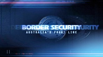 Border Security: Australia's Front Line - Image: Border Security Title Screen