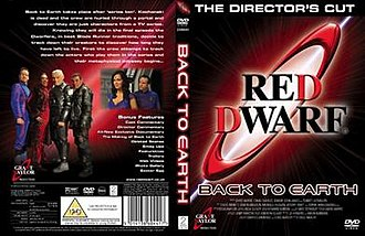 Red Dwarf: Back to Earth - The cover art for the Back to Earth DVD.