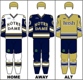 e1779022b Notre Dame Fighting Irish men s ice hockey - Wikipedia