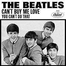The Beatles - Can't Buy Me Love (studio acapella)