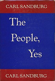 Carl Sandburg, The People, Yes, cover.jpg