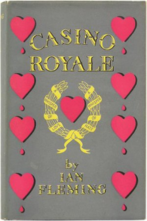 Casino Royale (novel) - First edition cover, conceived by Fleming