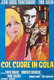 <i>Col cuore in gola</i> 1966 film by Tinto Brass