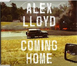 Coming Home (Alex Lloyd song) - Image: Coming Home (Alex Lloyd single cover art)
