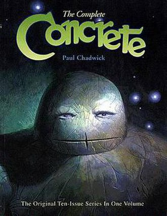 Concrete (comics) - Image: Complete concrete chadwick cover