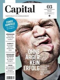 <i>Capital</i> (German magazine) German business magazine