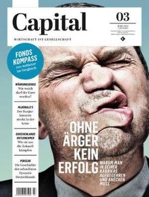 Capital (German magazine) - Image: Cover Captial 03 2015