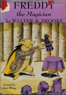 <i>Freddy the Magician</i> book by Walter R. Brooks