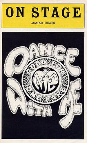 Dance with Me (musical) - Original Broadway Playbill