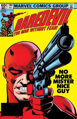 Daredevil (Marvel Comics character) - Image: Daredevil cover number 184