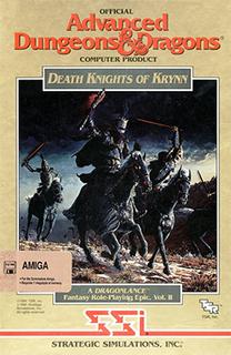 <i>Death Knights of Krynn</i> 1991 video game