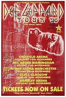 Slang World Tour 1996–1997 Def Leppard concert tour