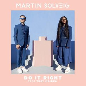 Do It Right (Martin Solveig song) - Image: Do It Right Martin Solveig