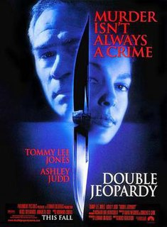<i>Double Jeopardy</i> (1999 film) 1999 thriller film directed by Bruce Beresford