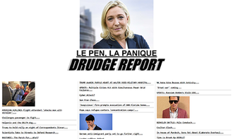 Drudge Report - Image: Drudge homepage 2017