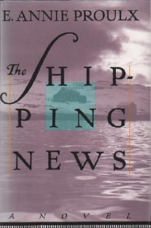 The Shipping News - Cover to a recent paperback edition