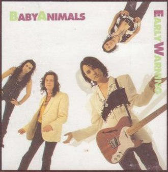 Early Warning (Baby Animals song) - Image: Early Warning AU by Baby Animals